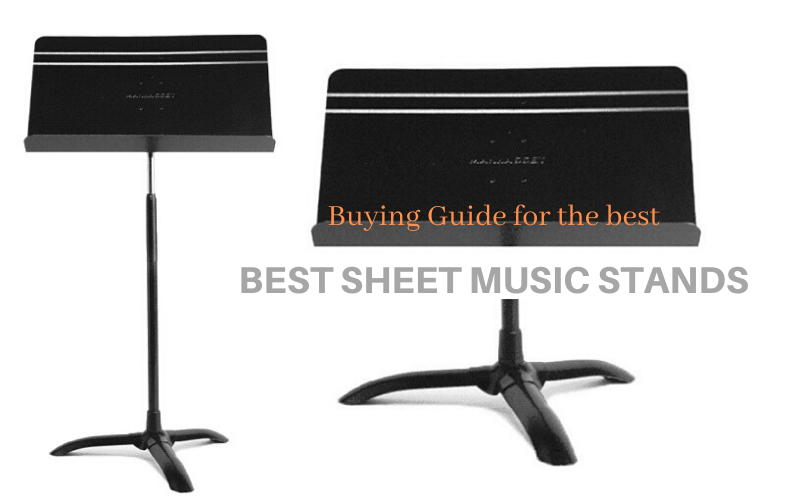 Best Sheet Music Stands Buyers Guide