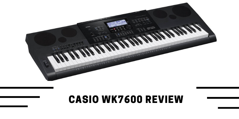 casio wk7600 guide