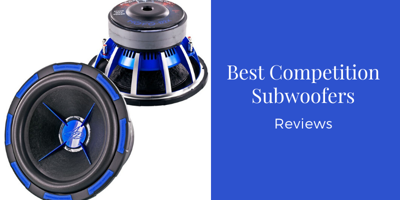 competition subwoofers